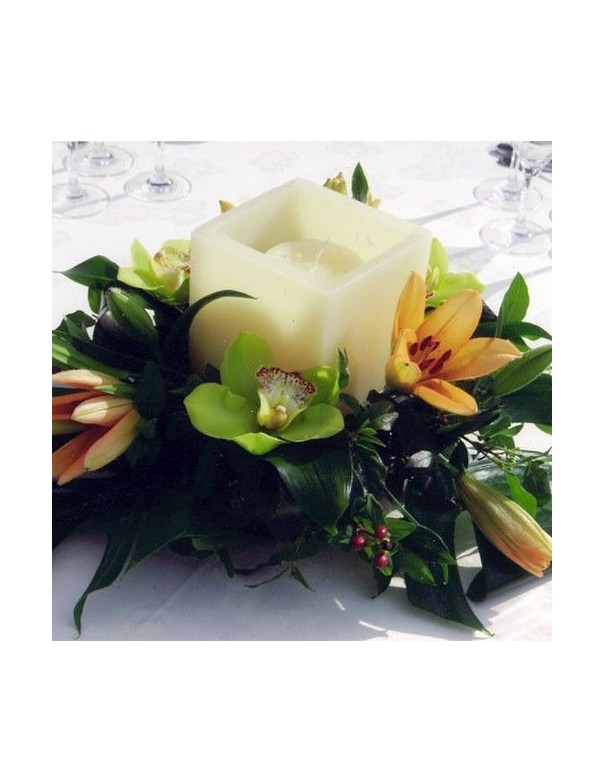 Orchid Centerpiece with