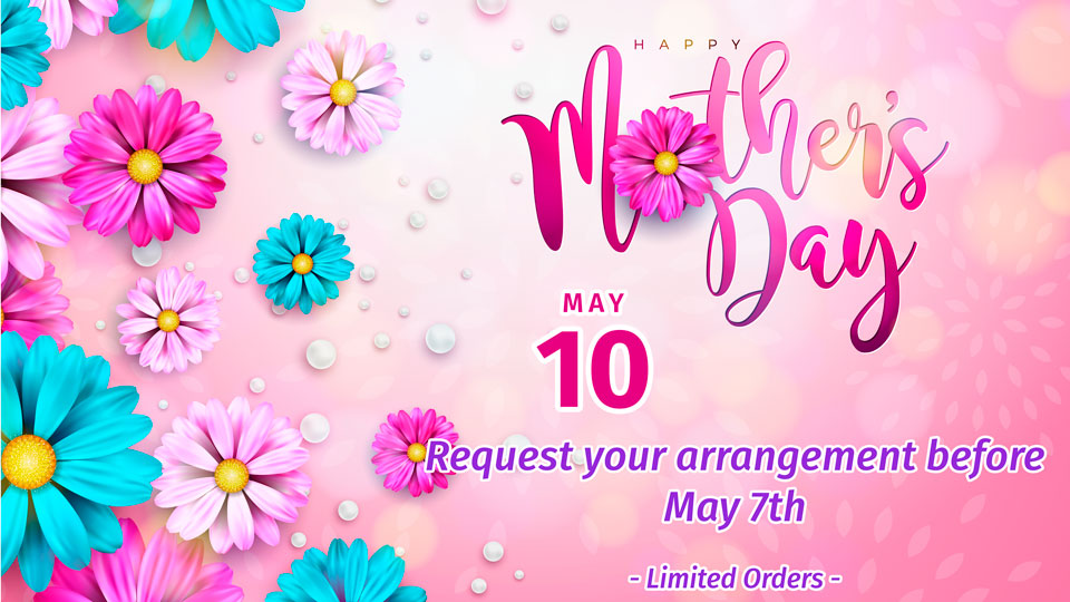 Celebrate this March 8 International Women's Day, place your order!