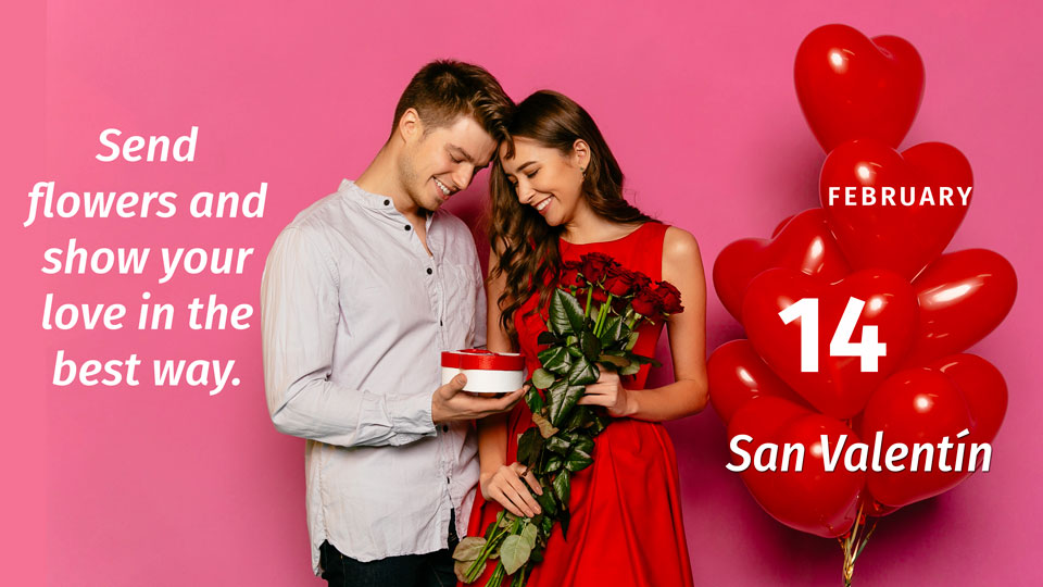 Celebrate Valentine's Day, place your order!